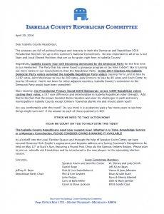 Membership Letter